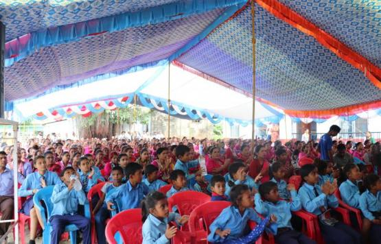 ४० औं राष्ट्रिय शिक्षा दिवस, ५३ औं अन्तर्राष्ट्रिय साक्षरता दिवस र निजामति सेवा दिवस-२०७६को अवसरमा देवदह नगरपालिकाद्धारा आयोजित कार्यक्रममा सहभागीहरु